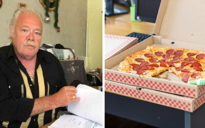 Belgičan už 9 let každý den dostává krabice s pizzou, ale nic si neobjednal. Nemohu kvůli tomu spát, říká