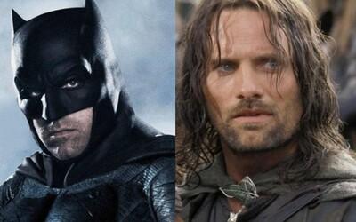 Ben Affleck si možno predsa zahrá v sólovke Batmana a Viggo Mortensen stvárni gaya, ktorý sa snaží uzmieriť so svojím otcom