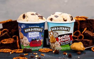 Ben & Jerry's má oficiálnu Netflix zmrzlinu. Je vraj ideálna k seriálom
