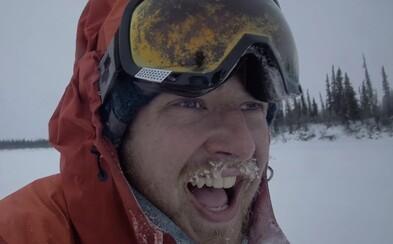 Ben Page jede už třetí rok na kole kolem světa. Ve filmu z cesty arktickou oblastí říká, že nejtěžší je úzkost a samota