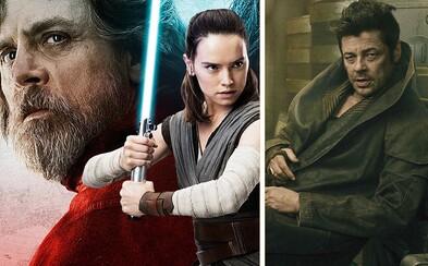 Benicio Del Toro si v prichádzajúcom Star Wars zahrá temného hackera. Ako herec predstavil svoju postavu?