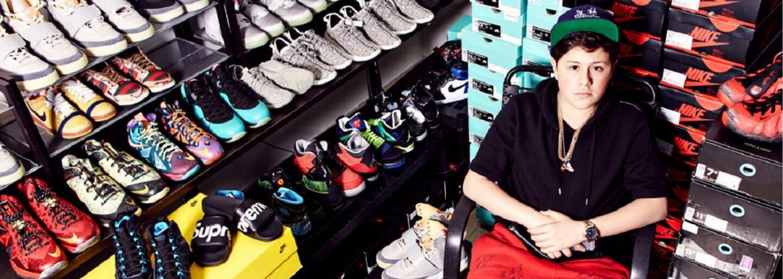 Benjamin Kickz: 16-ročný priekupník s teniskami, ktorý už údajne zarobil svoj prvý milión