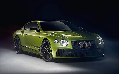 Bentley oslavuje pozoruhodný rekord extrémnym GT-čkom s W12-kou