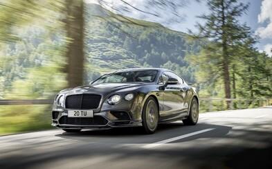 Bentley vypúšťa do svete vrchol luxusného GT-čka. 710-koňový Continental Supersports je najrýchlejším modelom v histórii značky