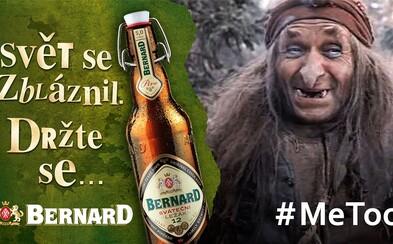 Bernard má další pobuřující reklamu, ve které nesouhlasí s kampaní #MeToo. Na jejich Facebooku se strhla lavina příspěvků