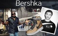 Bershka pokračuje ve stopách Zary a tuto sezónu kopíruje Yeezy Boost 750, Air Force 1 R.T. a tenisky Y-3
