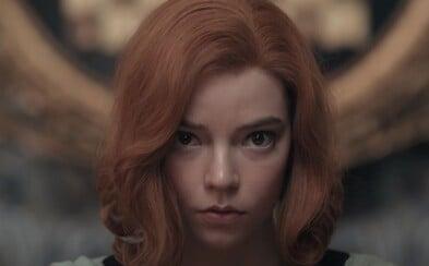 Beth má obrovský šachový talent, ale je také závislá na sedativech. Netflix uvede adaptaci románu The Queen's Gambit.