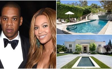 Beyoncé a Jay Z se museli přestěhovat do nového. Vydej se na prohlídku jejich paláce v Los Angeles
