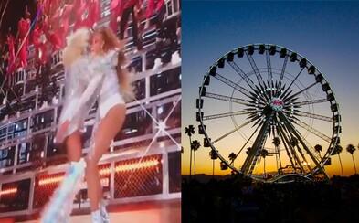 Beyoncé na Coachelle spadla so svojou sestrou Solange na rukách. Neudržala rovnováhu, ale vystúpenie kreatívne zachránili
