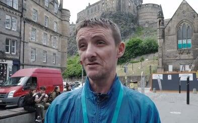 Bezdomovci začali nabízet autentické prohlídky v Edinburghu. Turistům ukazují neobyčejná zákoutí města
