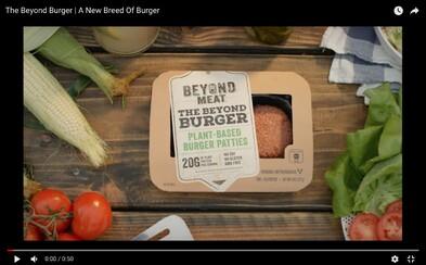 Bezmasý burger putuje na evropský trh. V britském Tescu ho už prodávají a lidé nemůžou uvěřit, že je z rostlin