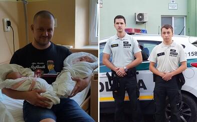 Bezohľadná jazda po Trenčíne skončila policajným doprovodom do pôrodnice. Slovák potreboval ženu dostať čo najskôr do nemocnice