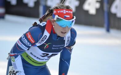 Biatlonistka Lucie Charvátová zaběhla úžasný výkon a získala na mistrovství světa bronz!