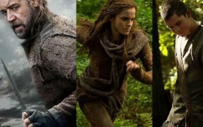 Biblický Noe je tu s novými zábermi, bude to epický blockbuster?