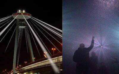 Biela noc cez víkend pohltí Bratislavu a prinesie dychberúci pohľad na UFO či výhľad z takmer 90-metrovej budovy
