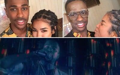 Big Sean sa vo dvojici videoklipov najprv premenil na starčeka, no neskôr s Kanyem zbúral klub