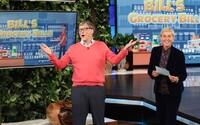Bill Gates nemá ani tušení o ceně potravin. Miliardář ve vtipném videu hádá, kolik stojí základní věci domácnosti