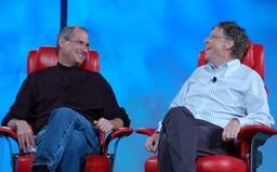 Bill Gates odhalil, kterou vlastnost vždy záviděl Stevu Jobsovi