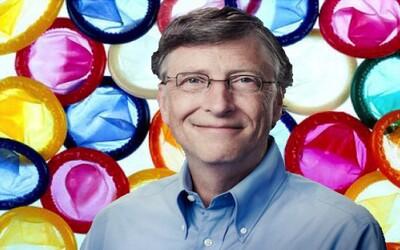 Bill Gates podporuje vývoj nových kondómov