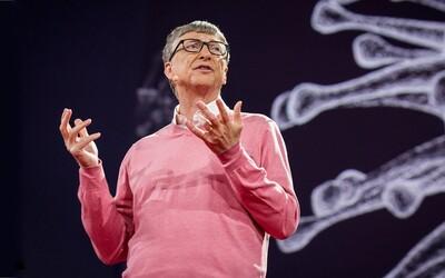 Bill Gates před následky virové epidemie varoval již v roce 2015. Pusť si jeho přednášku z konference TED