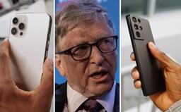 Bill Gates prozradil, zda preferuje Android, nebo iOS a iPhone. Nejdůležitější je prý flexibilita vývojářů a softwaru