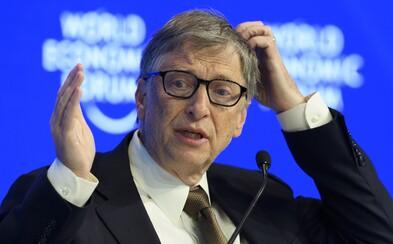 Bill Gates už není ani druhým nejbohatším mužem planety