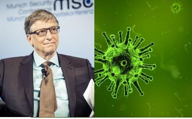 Bill Gates varuje před pandemií. V následujících letech prý umře 30 milionů lidí