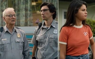 Bill Murray a Adam Driver vraždí v zábavném traileru zombíky. Cestu jim zkříží i Selena Gomez