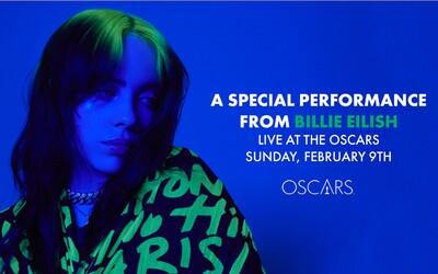 Billie Eilish bude mít speciální vystoupení na letošních Oscarech