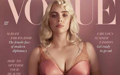 Billie Eilish zveřejnila další fotografie ze série pro Vogue