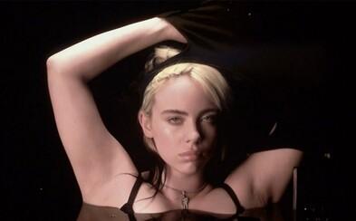 Billie Eilish se svlékla do spodního prádla, jen v podprsence vyslala silný vzkaz: Proč mě soudíte kvůli mému tělu?
