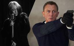 Billie Eilish si vylévá srdce v klipu pro titulní skladbu k poslednímu Jamesi Bondovi od Daniela Craiga