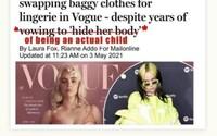 Billie Eilish svoje telo neukázala kvôli peniazom. Kritikom posiela jasný odkaz