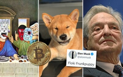 Bitcoin expresne prefrčal cez hranicu 50-tisíc dolárov. Vlastní ho už aj miliardár George Soros, NFT hry sa stávajú veľkým trendom