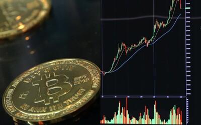 Bitcoin opäť prudko rastie. Blíži sa k hranici 60 000 dolárov