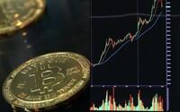 Bitcoin opět prudce roste. Blíží se k hranici 60 000 dolarů