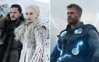 Bitva o Winterfell a Avengers: Endgame jsou nejtweetovanějšími projekty v historii televize a filmu