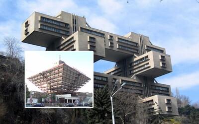 Bizarné budovy ovplyvnené sovietskym architektonickým štýlom. Chýbať nemôže ani budova Slovenského rozhlasu