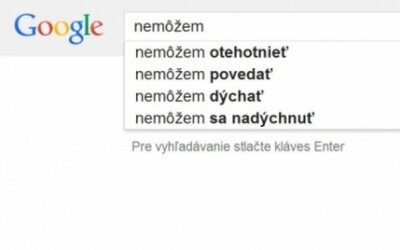 Bizarné návrhy Google vyhľadávania