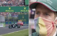 Bizarní Hamilton jako jediný na startu. Boj za LGBTI i rozbitá auta za miliony způsobily šílenství na závodech F1 v Maďarsku