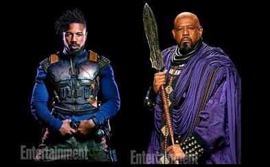 Black Panther predstavuje mená deviatich postáv a ich brilantný vizuál