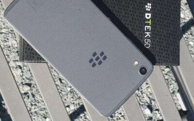 BlackBerry predstavilo najbezpečnejší Android smartfón. DTEK50 ponúka Marshmallow aj slušné špecifikácie