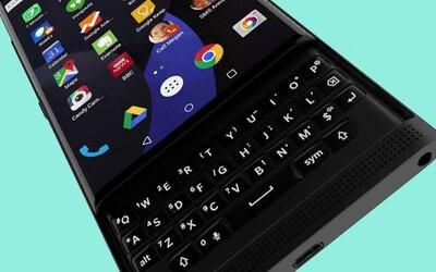 Blackberry s Androidom a vysúvacou klávesnicou príde už čoskoro. Podarí sa mu uspieť?