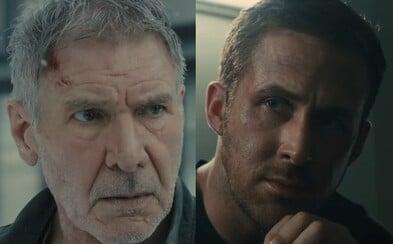 Blade Runneři Ryan Gosling a Harrison Ford spojují síly v akčním a audiovizuálně odzbrojujícím traileru pro pokračování kultovní sci-fi klasiky