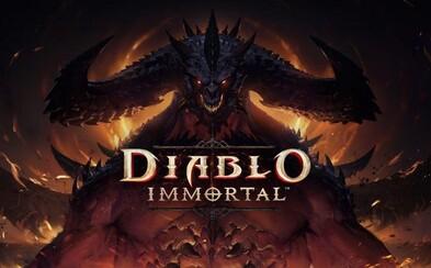Blizzard si naďalej strieľa z fanúšikov. Diablo Immortal bude prerobená stará hra na mobily a Diablo IV nemá dátum vydania
