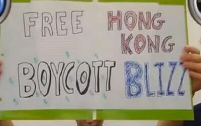 Blizzard zabanoval hráča podporujúceho protesty v Hong Kongu. Vyslúžil si obrovskú kritiku verejnosti