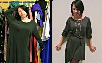 Blogerka mení nevkusné oblečenie zo second handu na unikátne módne kúsky