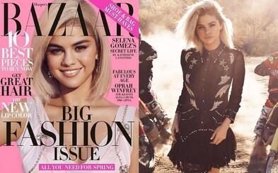 Blond Selena Gomez pre Harper's Bazaar. Prezradila, ako sa teraz cíti a čo je pre ňu najdôležitejšie