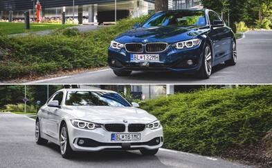 BMW 425d Coupé vs. 430i Gran Coupé xDrive: Porovnali sme nesmrteľnú klasiku a fenomén dnešnej doby (Test)