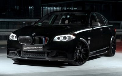 BMW M550d MM-Performance: Štýlový black on black
